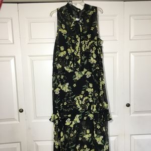 Who What Wear Lined Maxi Dress. Size 2X.  NWT